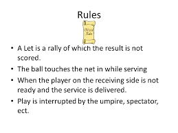 10 rules of table tennis table tennis ping pong ppt video online download
