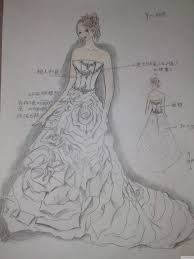 wedding dress material painted wedding dress on select material requirements in
