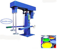 high speed dispersing and mixing machine for interior silk plaster