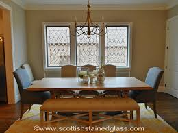 Dining Room Window Dining Room Stained Glass Window