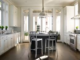 center island dining table contemporary kitchen