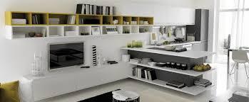 deco cuisine ouverte sur salon design interieur déco cuisine ouverte salon moderne blanc laqué