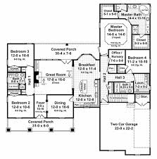 country style house plan 4 beds 3 00 baths 2250 sq ft plan 21 196