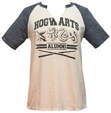 hogwarts alumni t shirt harry potter hogwarts alumni juniors raglan t shirt large