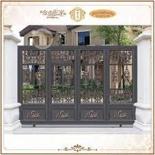 gate and fence sliding porch gate sliding main gate design for