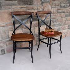 industrial kitchen table furniture cross back wood chair click for industrial chair