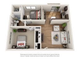 Gateway Floor Plan by Floorplans Gateway Village Apartments