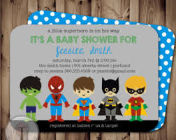 marvel baby shower baby shower invitations orionjurinform