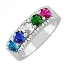 ring with birthstones engagement rings wedding rings diamonds charms jewelry from