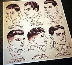 1920 hairstyles for kids 1920 s gentlemen s hairstyle barber barbering guide 11 x11 5