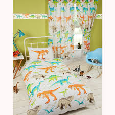 kids single duvet cover sets boys girls bedding unicorn dinosaur