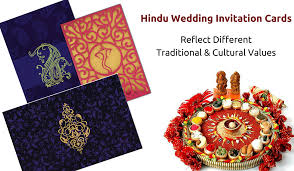 beautiful u0026 different types of indian wedding invitation cards