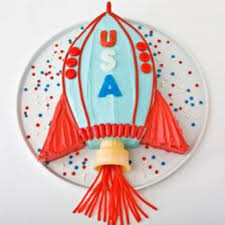 rocket ship birthday cake design parenting