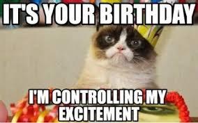 Cat Happy Birthday Meme - happy birthday cat cat happy birthday funny songs 2happybirthday