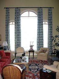 Arch Window Curtains Arched Window Treatment Swags And Drapes Arched Window