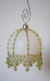 Easy Beaded Christmas Ornaments - 2313 best beaded christmas ornaments images on pinterest beaded