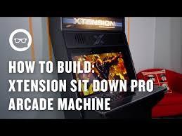 sit down arcade cabinet building an arcade machine xtension sit down pro arcade machine for