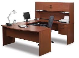 Computer Inside Desk Wonderful Bestar Harmony U Shaped Computer Desk Inside Attractive