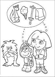 kidscolouringpages orgprint u0026 download coloring pages dora and