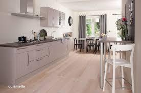 cuisine ton gris photos cuisine blanc et gris couleur avec carrelage beige newsindo co