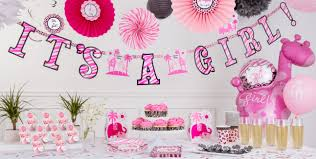 it s a girl baby shower decorations party city baby shower decor baby shower ideas gallery