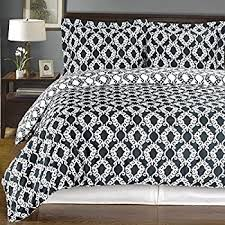 100 Cotton Queen Comforter Sets Amazon Com Navy And White Meridian 4pc Full Queen Comforter Set