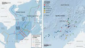 Map Of South China Sea by Geogarage In Victory For Philippines Hague Court To Hear Dispute