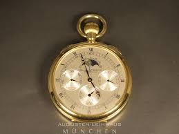 Gebrauchte K Hen Iwc Taschenuhr Limitierte Auflage 750 Gold Mit Mondphase Für
