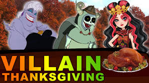 disney evil villains their favorite thanksgiving food ursula