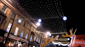 switching on christmas lights in newcastle upon tyne youtube
