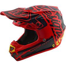 vega motocross helmet new troy lee designs 2018 mx se4 polyacrylite factory red tld