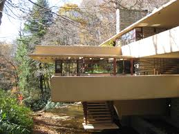 Frank Lloyd Wright Inspired House Plans Falling Water House Plan Pdf