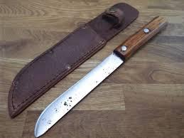 kitchen knives with sheaths carbon steel butcher handmade razor sharp vintage 6 blade kitchen