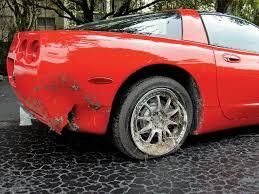 corvette fiberglass repair c5 urethane bumper repair magazine