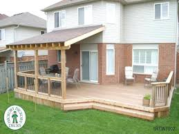 Simple Patio Cover Designs Extraordinary Patio Cover Design Plans Framing Superior Build Roof