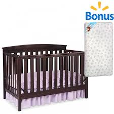 4 In 1 Crib With Mattress Delta Children S Products Your Choice Crib And Finish With Bonus