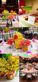 colourful wedding vintage rainbow theme inspirations rainbow