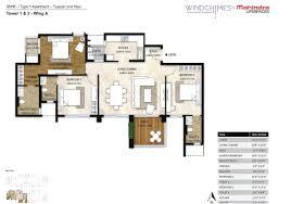 mahindra windchimes 3 bhk apartments bannerghatta roadd bangalore