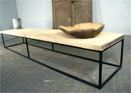 rustic metal coffee table low rustic coffee table gusciduovo com