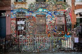 brooklyn house behold the shiny happy mosaic house of brooklyn gothamist