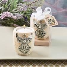 wedding candle favors religious candle favors