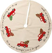 the country house truck burlap tree