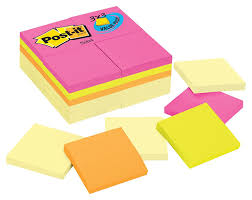 set de table originaux amazon com post it notes 3 in x 3 in canary yellow 12 pads