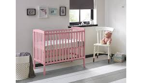 Asda Nursery Furniture Sets Buy Kinder Valley Compact Cot Dusky Pink From Our Nursery