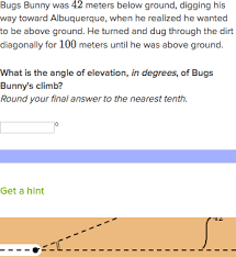 right triangle word problems practice khan academy
