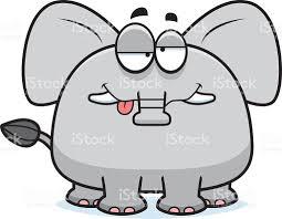drunk cartoon elephant stock vector art 531583365 istock