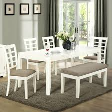 Kitchen Table Bench Cushions by White Bench Seat Folding Table With Bench Seats And Excelent