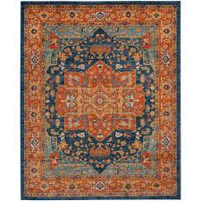 Rugs Safavieh Furniture Blue Orange Safavieh Area Rugs Evk275c 9 64 1000