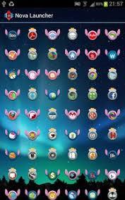theme nova launcher android stitch ring icon theme