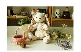 rabbit material diy material sets handmade doll stuffed rabbit bunny doll